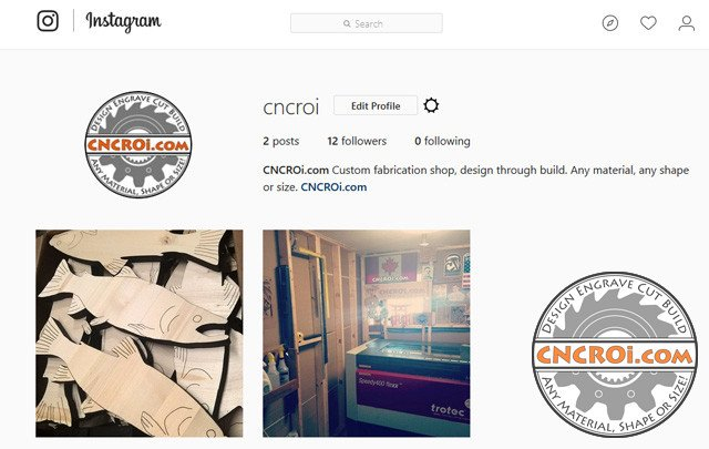1-instagram CNCROi.com now on Instagram