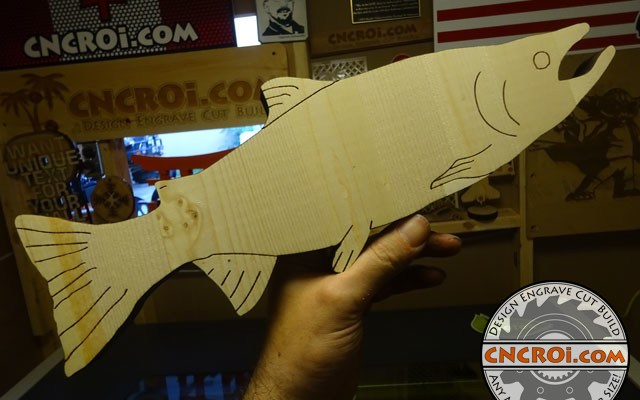cnc-laser-fish-x9 Fishing for Pine: CNC Laser Engraved & Cut Fish