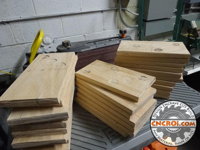 custom-oak-domino-1 Solid Oak Domino Set: Reclaimed Wood to High End Game