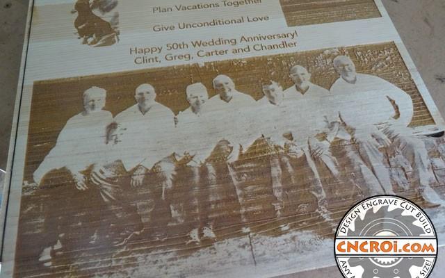 wedding-anniversary-x4 50th Wedding Anniversary: CNC Laser Engraving & Cutting Pine