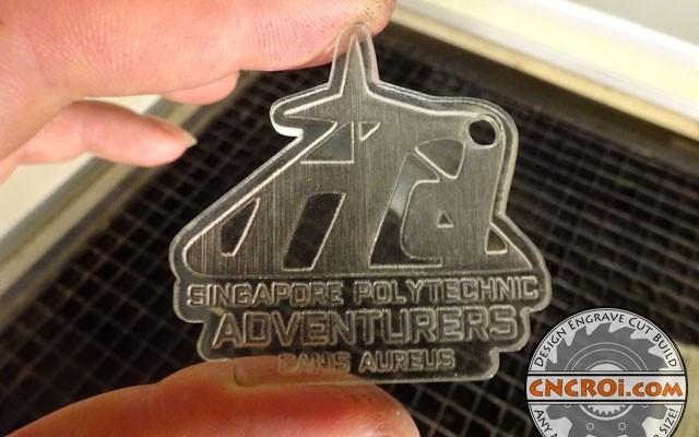 acrylic-keychains-x3 Singapore Polytechnic Acrylic Keychains
