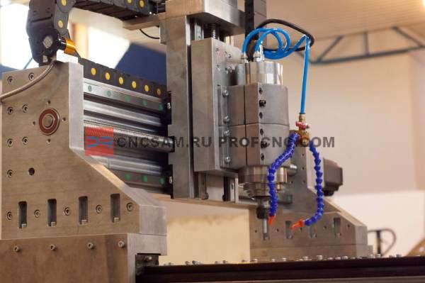 Фрезерный станок с ЧПУ PROFCNC ST на базе плиты высокой точности (С1,С2,С3)
