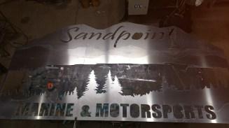 64 x 120 aluminum sign 1