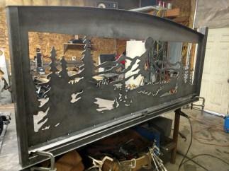 custom made banister