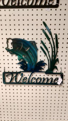 jumping bass welcome color cast paint
