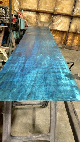 steel steel FX dye and ready for clearcoat