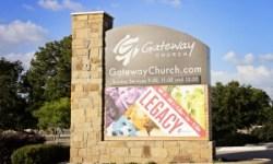 Gateway Church Sign