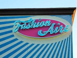Fashion Aire sign