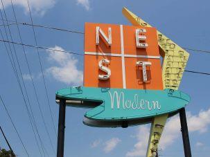 NEST Modern sign