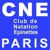 logo club de natation des Epinettes de Paris