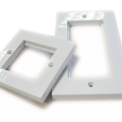 Faceplates RJ45 Size