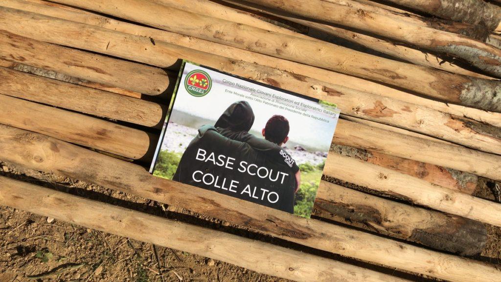 base scout COLLE ALTO. Monteleone d'Orvieto
