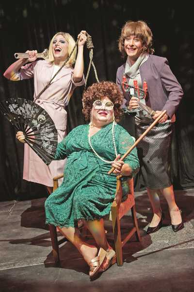 COURTESY PHOTO: CASEY CAMPBELL PHOTOGRAPHY - The ladies of The Farndale Avenue Housing Estate Townswomen's Guild's Dramatic Society are back again for a wildly terrible take on an Agatha Christie tale.