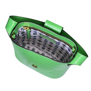 C.Nicol Holly mini bucket bag apple green