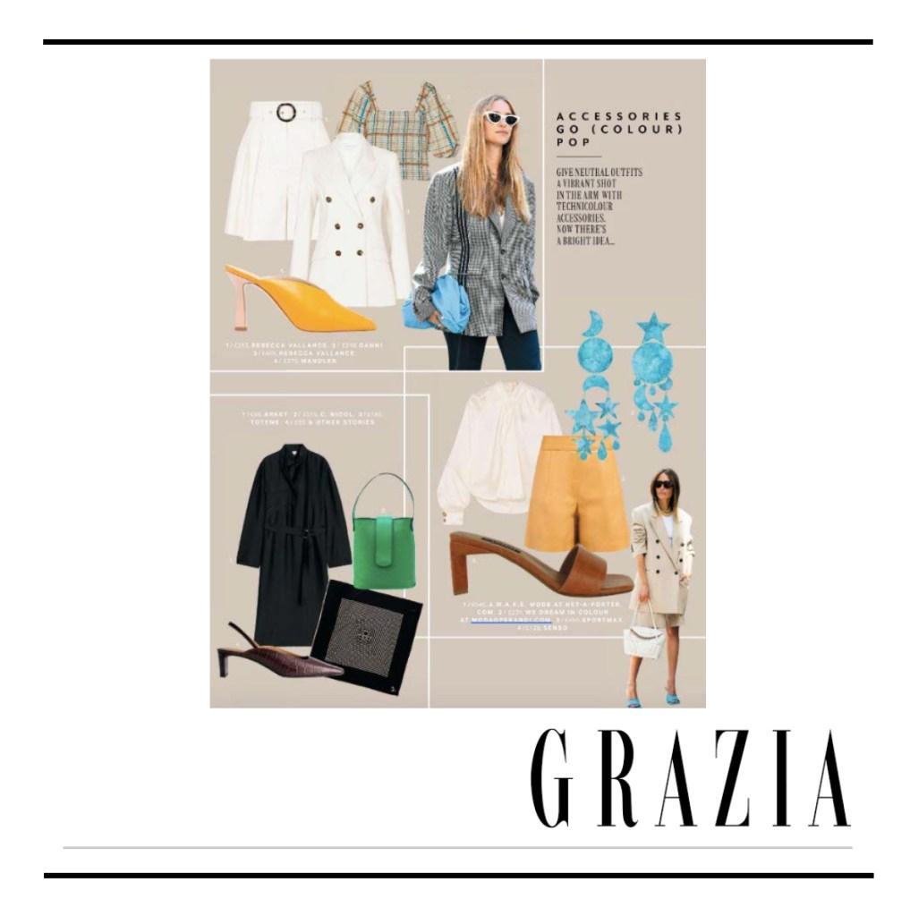 C.Nicol bags Grazia UK