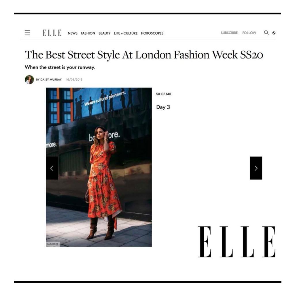 C.Nicol bags Elle Magazine