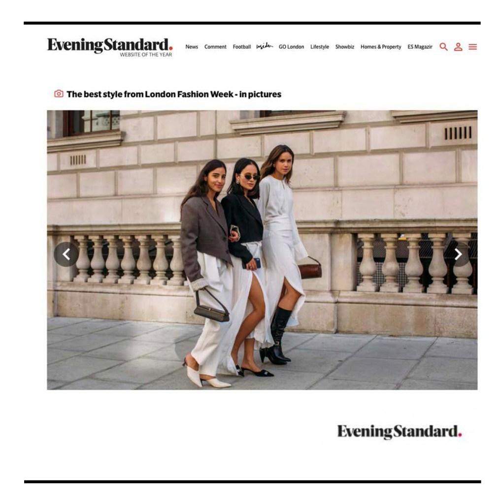 C.Nicol bags London Evening Standard Fashion