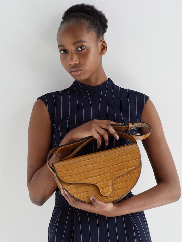 C.Nicool Lily maxi bag caramel leather