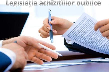 Consultare privind modificarea legislatiei achizitiilor publice