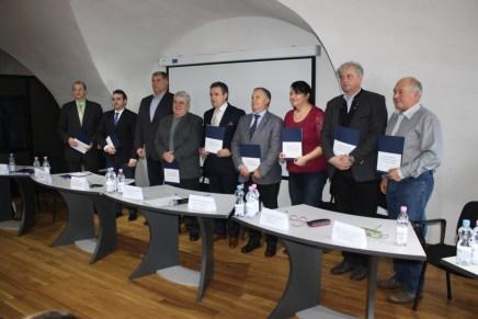 Semnarea acordului de parteneriat intre organizatiile patronale si asociatiile profesionale bihorene