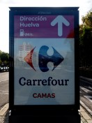 """""""Camas"""" means """"beds"""" in Spanish, but it is also the name of a town not far from Sevilla"""