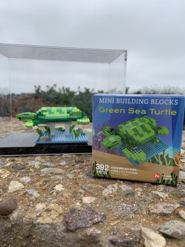 Mini Building Blocks Green Sea Turtle