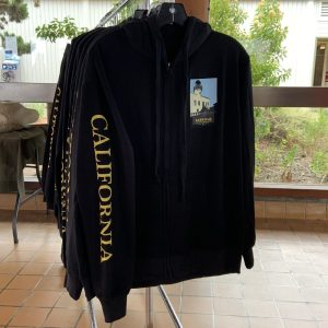 Cabrillo Centennial Adult Hooded Sweatshirt in Black