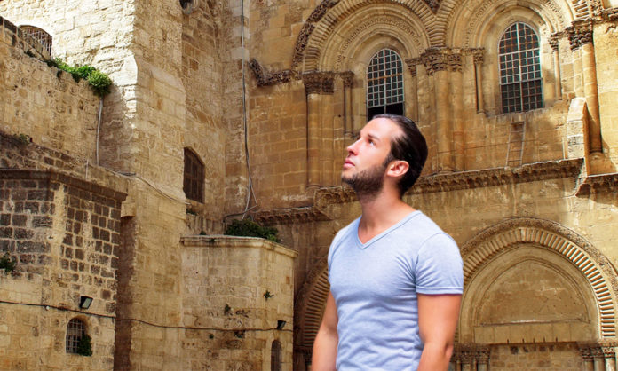 Man Arriving At Holy Land Tour Confused To Not Find Himself