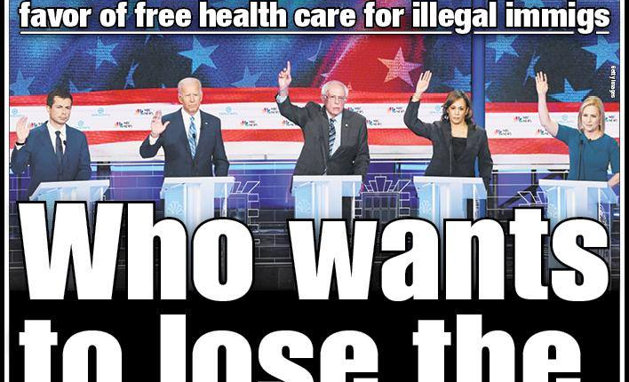 New York Post Cover on Democrats Promising Illegal Aliens ...