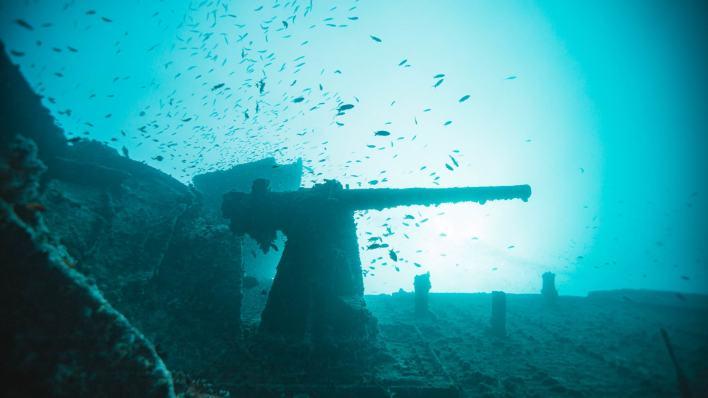 """حطام سفينة """"إس إس ثيستليجورم"""""""