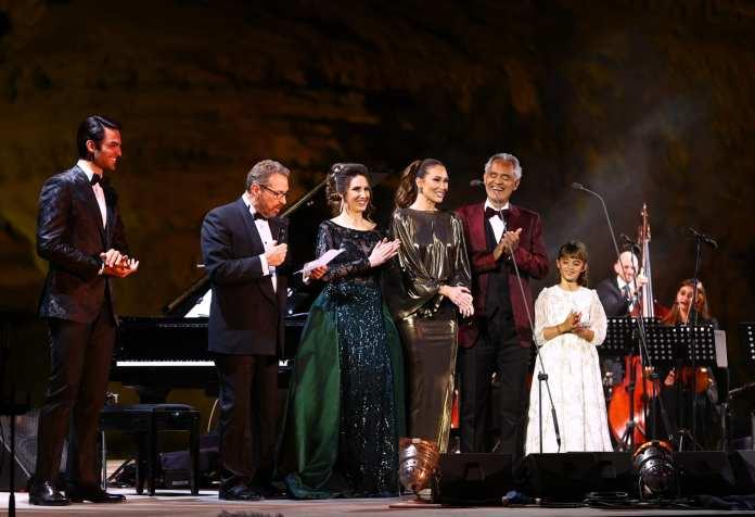 Andrea Bocelli in AlUla