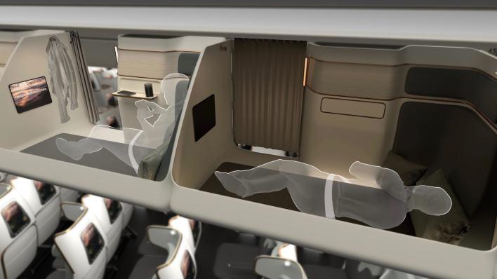Crystal Cabin Awards.. Take a look at futuristic aircraft cabin designs