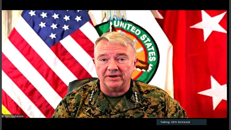 شاهد لحظة إعلان البنتاغون استكمال عملية الانسحاب من أفغانستان