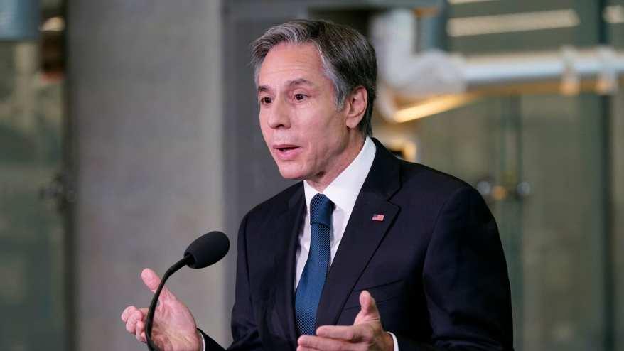 وزير الخارجية الأمريكي، أنتوني بلينكن