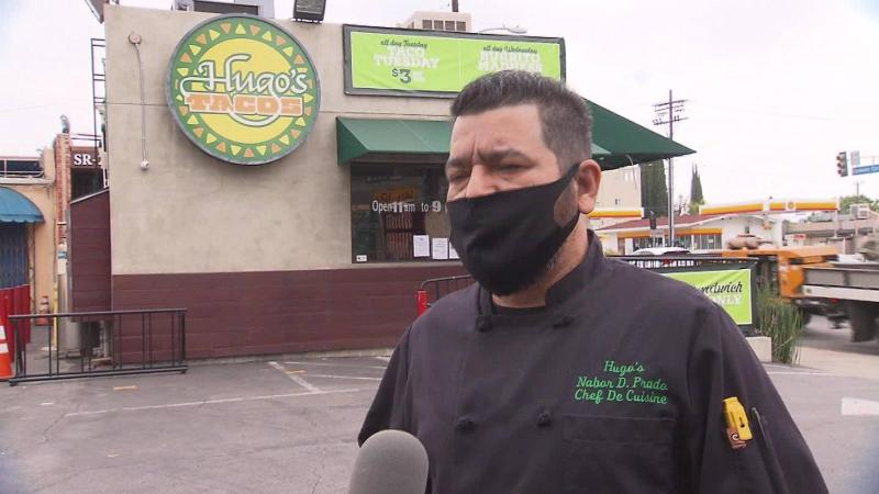 Difficult customers due to masks force taqueria to close