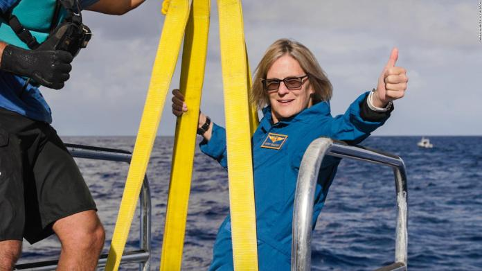 He visited space and now the deepest place in the ocean