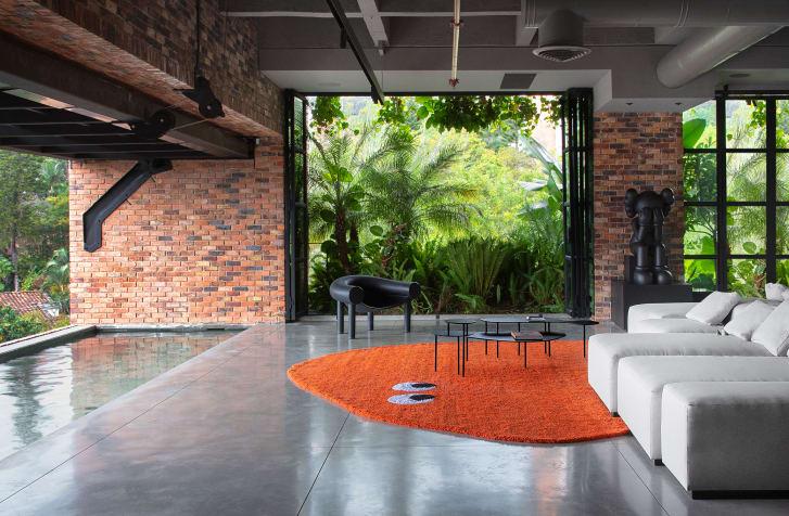 J Balvin - Architectural Digest - Medellín