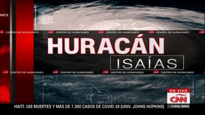 Hurricane Isaías hits the Dominican Republic