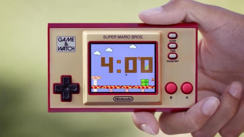 Nintendo revives a portable classic from the eighties