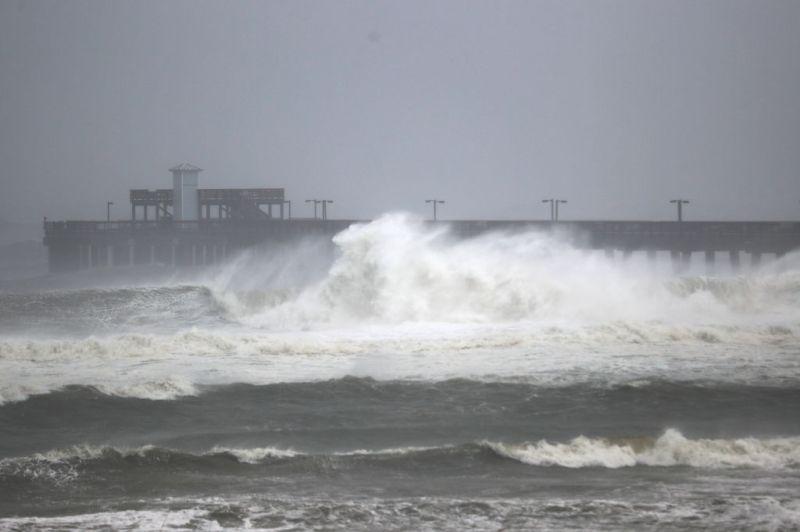 Vidéos sur les inondations de pluie de l'ouragan SAlly Florida Alabama