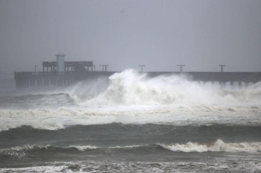 Ураган SAlly Флорида, Алабама, дождь, наводнение, видео
