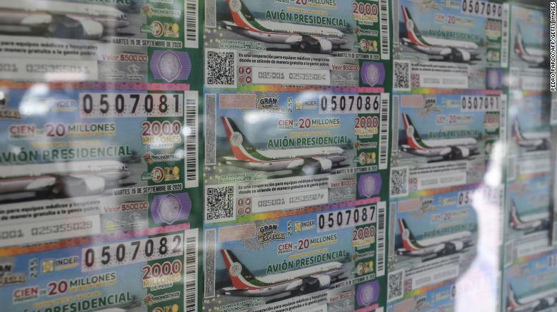 presidential plane raffle mexico amlo winners
