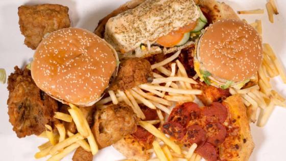 Elecciones de EE.UU.  nos llevan and comer comida chatarra