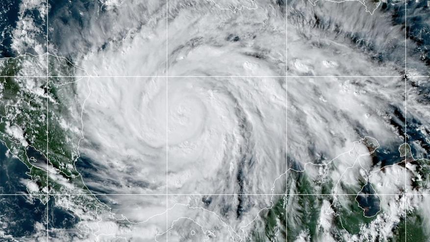 Nicaragua, Honduras and Guatemala, in danger from Iota