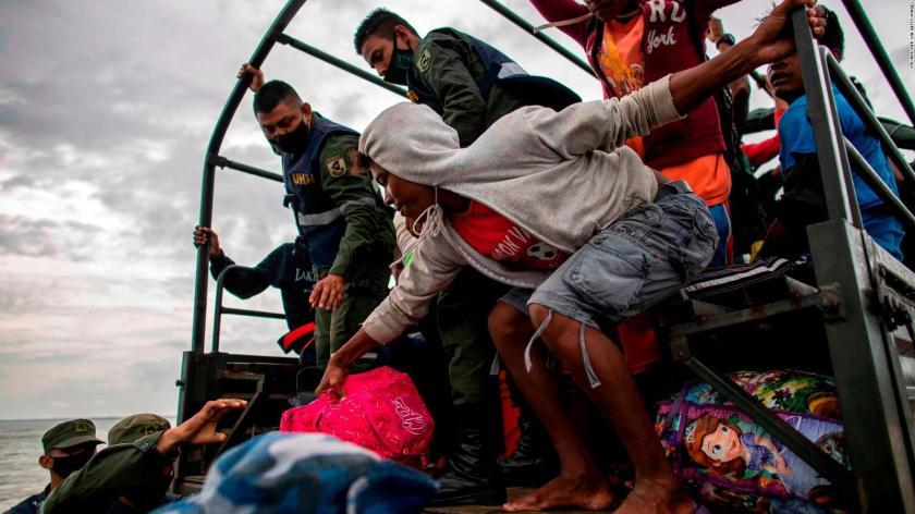 When will Hurricane Iota hit Nicaragua?