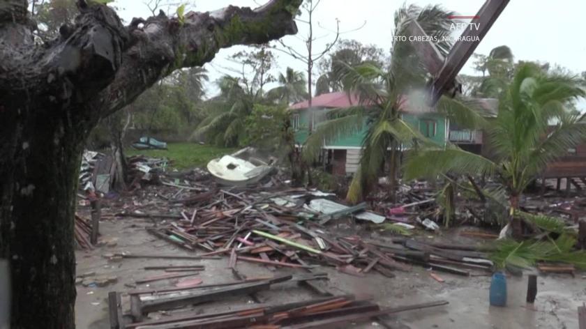 Resident describes Iota's fury in Nicaragua
