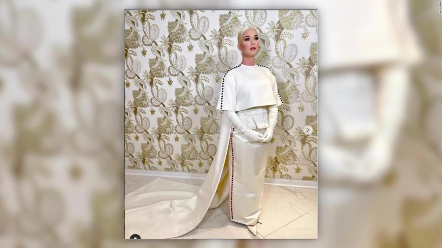 Katy Perry deslumbra tras la inauguración de Joe Biden
