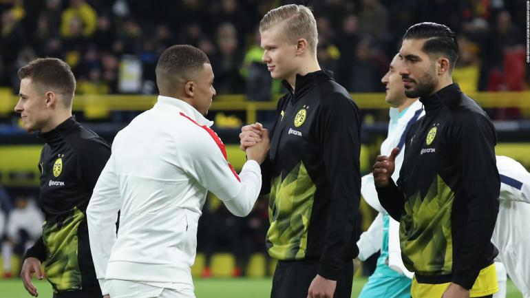 Zidane and Simeone recognize the value of Mbappé and Haaland