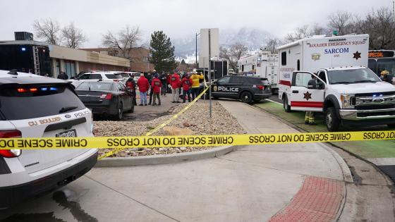 10 dead in shootings in Boulder, Colorado