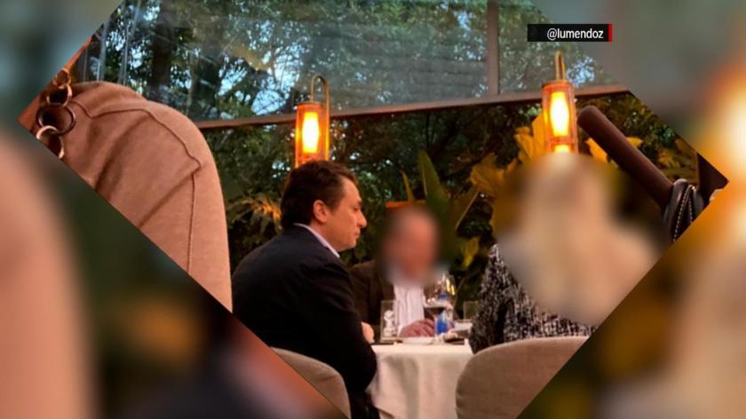 Emilio Lozoya's dinner that causes controversy